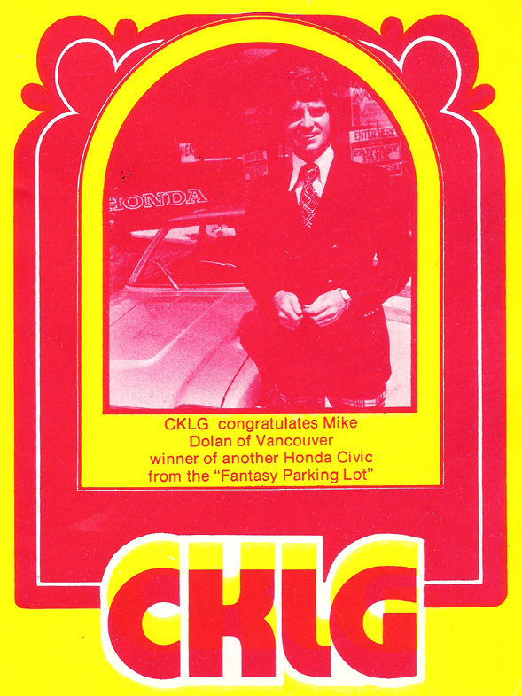 CKLG Top 30 - August 15 1975