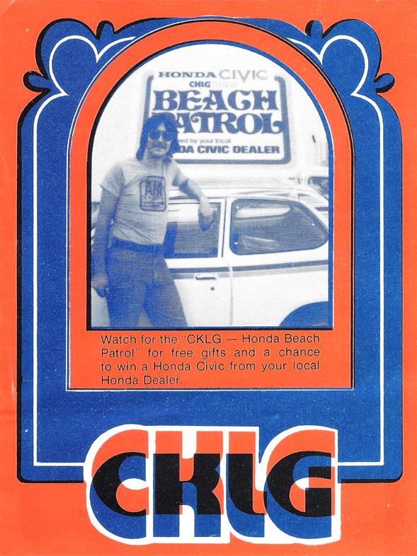 CKLG Top 30 - July 25 1975