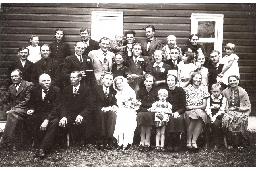 - Wedding Photo   - circa 1935  - Estonia