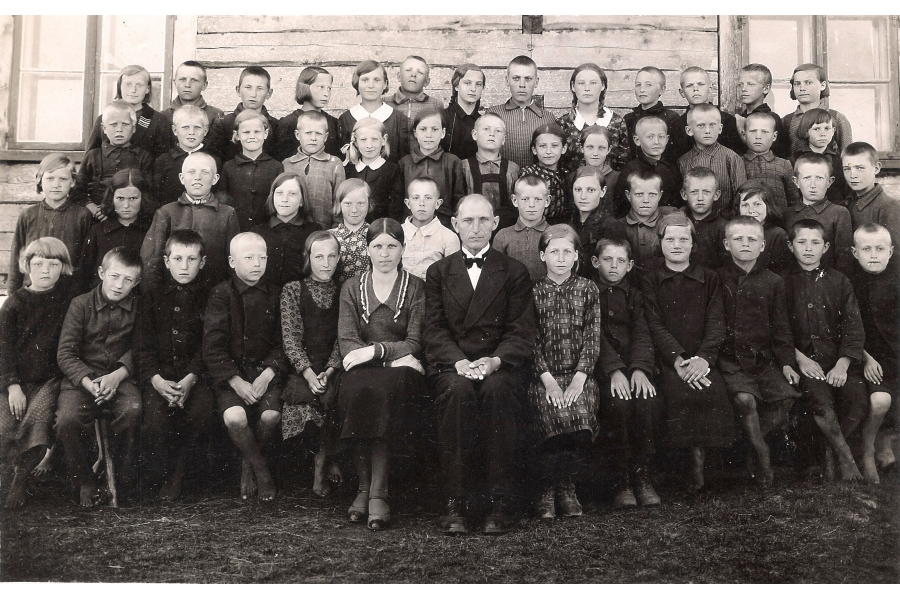 - Class Photo   - circa 1930  - Estonia