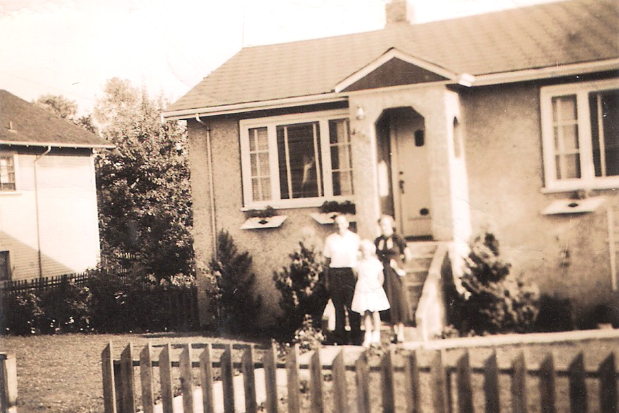 - The Nõmme Residence (?)   - early/mid 1950's  - 3624 E. Georgia Street, Vancouver BC