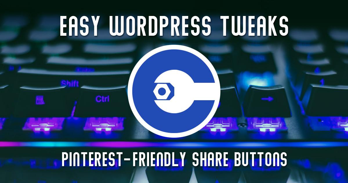 Pinterest Share Buttons