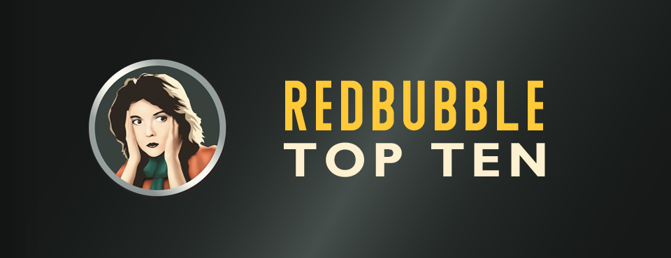 redbubble top ten