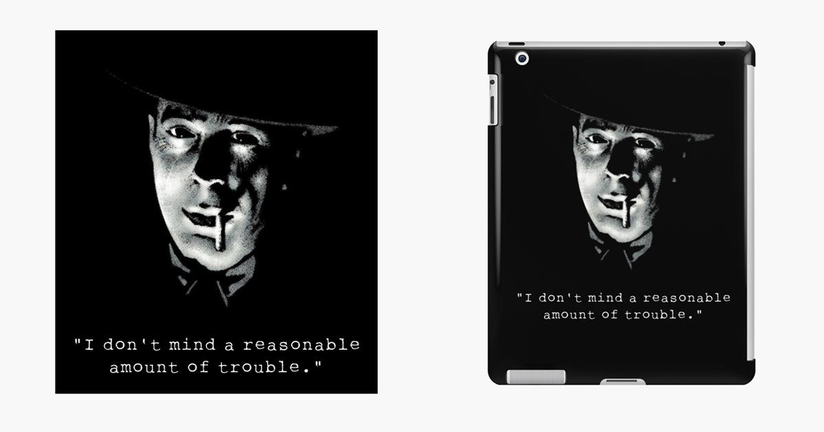 A Reasonable Amount of Trouble iPad Skin